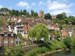 The pleasant market town of Bridgnorth, Shropshire