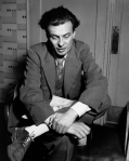 An evidently stupefied Aldous Huxley in early 1938