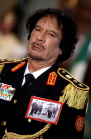 Gaddafi: love of the young