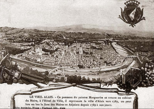 Dalrymple mourns the medieval city of Alès (formerly Alais), 25 miles from his home