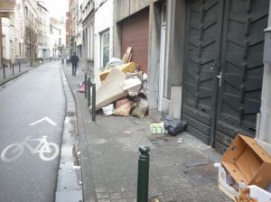 A Sint-Jans-Molenbeek street, Brussels:
