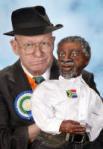 Uys with Mbeki