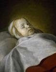 Portrait of a dead child, c. 1650. Flemish