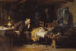 Sir Luke Fildes, The Doctor, 1891. Tate Gallery