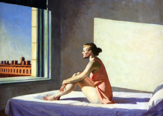 Edward Hopper, Morning Sun (1952). Columbus Museum of Art