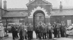 The workhouse in 1961 prior to demolition