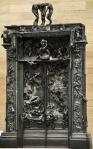 Rodin, La Porte de l'Enfer. Commissioned 1880. Kunsthaus Zürich