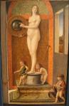 Giovanni Bellini, Four Allegories: Prudence, c. 1490. Gallerie dell'Accademia, Venice