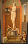 Giovanni Bellini, Four Allegories: Prudence, c. 1490. Gallerie dell'Accademia, Venice
