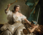 Jean-Marc Nattier, La justice châtiant l'injustice, 1737. Private collection