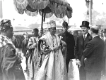 The Alake in London for the coronation of  George VI, May 1937