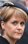 Winner: Nicola Sturgeon resembles an efficient and dedicated but bossy and unpleasant schoolmistress