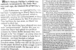 How Hitchens became an unperson at the Mail on Sunday, as reported by the magazine Private Eye