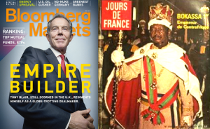 Tony Blair, Dalrymple writes, 'is to Churchill as the Emperor Bokassa is to Napoleon'. (It has emerged that the British taxpayer is shelling out £16,000 a week to help  Blair build his business empire.)