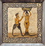 Pan with hamadryad, from Pompeii, Museo Archeologico Nazionale di Napoli