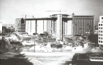 Under construction: the Berlaymont in happier days. It was completed in 1967