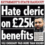 Anjem Choudary: 'the normal situation is for you to take money from the kuffar. So we take Jihadseeker's allowance'