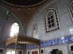 Part of private quarters (1578) of Sultan Murad III