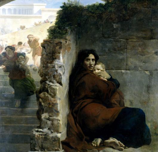 Léon Cogniet, Scène du massacre des Innocents, 1824. Musée des beaux-arts de Rennes