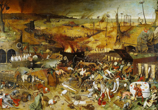 Bruegel, Triumph of Death, c. 1560. Prado