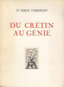 Serge Voronoff's 1941 work