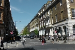 Harley Street: view from Cavendish Square