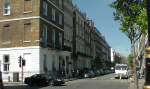Harley Street looking north from Weymouth Street