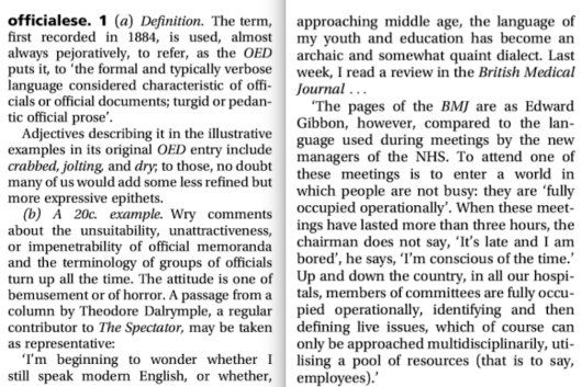 From Fowler's Dictionary of Modern English Usage, ed. Jeremy Butterfield, 2015