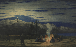 c. 1845. Richard Dadd, writes Dalrymple, was alive to 'the beauty of the world and (incidentally) to the dignity of the people through whose lands he had traveled. It would take an Edward Said to see anything other than admiration'