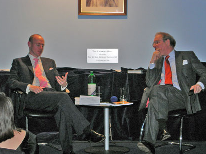 Daniel Hannan and Theodore Dalrymple