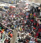 The bazaar at Onitsha