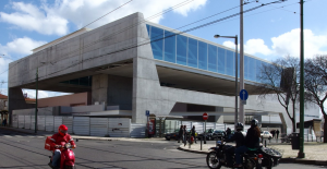 An unbelievably hideous building for the National Coach Museum in Lisbon